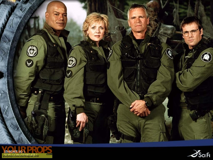 Stargate SG-1 original production material