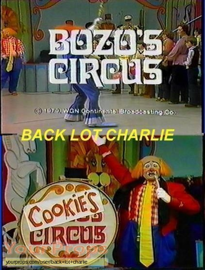Roy Brown Our Kooky Cook Cooky From Wgn Tvs Bozo The Clown