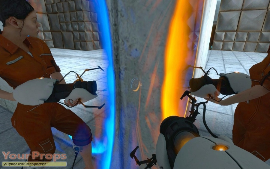 Portal (video game) replica movie prop