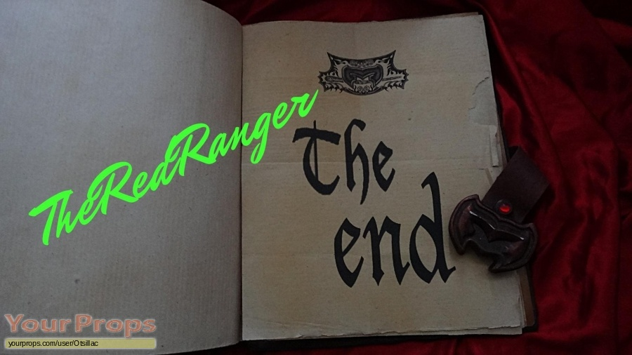 Power Rangers Mystic Force original movie prop