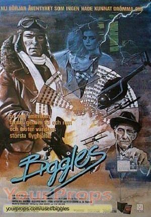 Biggles original production material