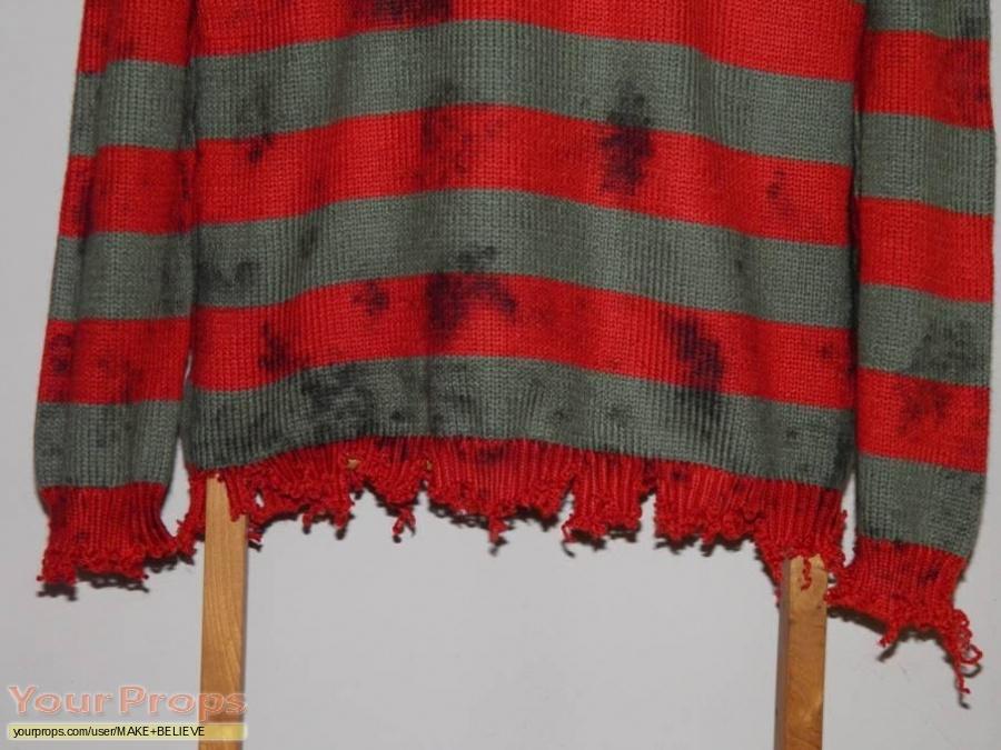 A Nightmare On Elm Street replica movie costume