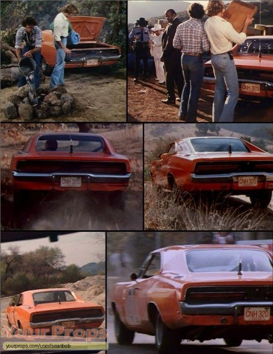 The Dukes of Hazzard  (1979-1985) original movie prop