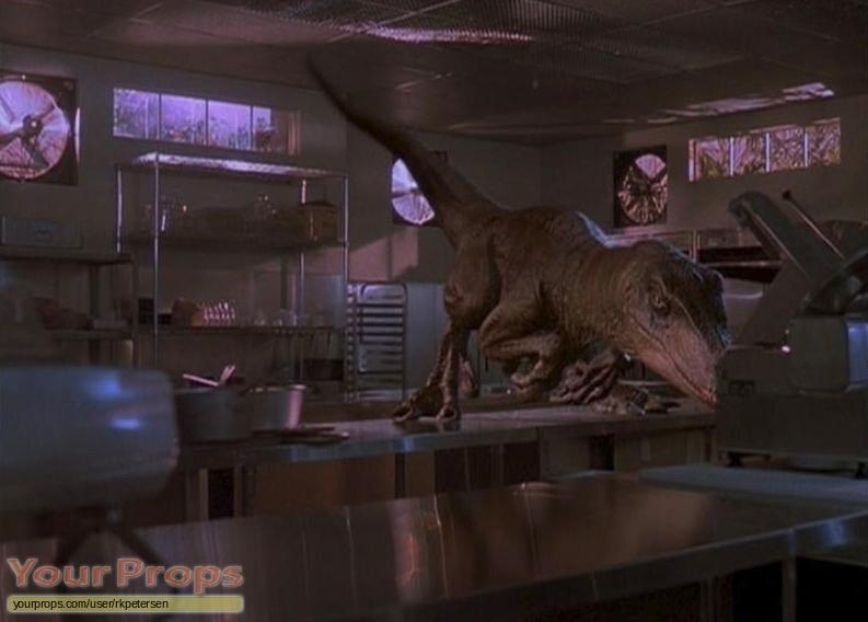 Jurassic Park original make-up   prosthetics