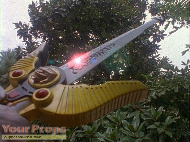 Power Rangers Lost Galaxy original movie prop