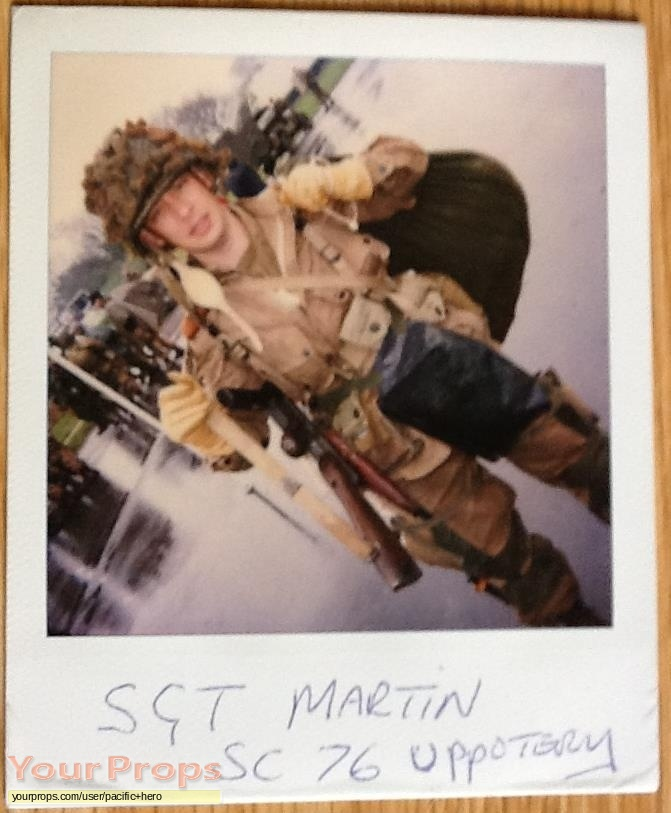Band of Brothers original production material