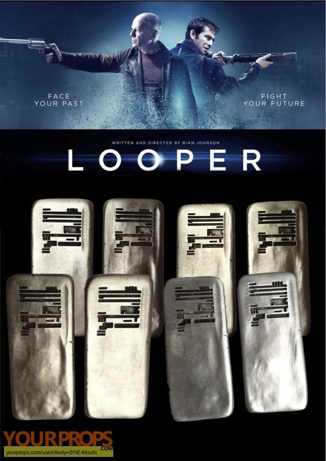 Looper original movie prop