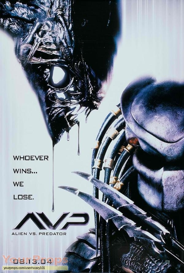 Alien vs  Predator original make-up   prosthetics