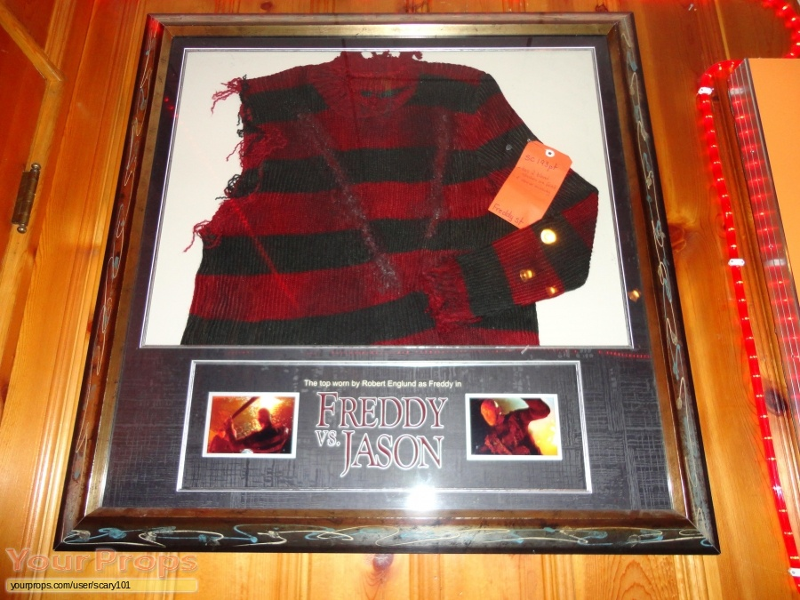 Freddy vs  Jason original movie costume