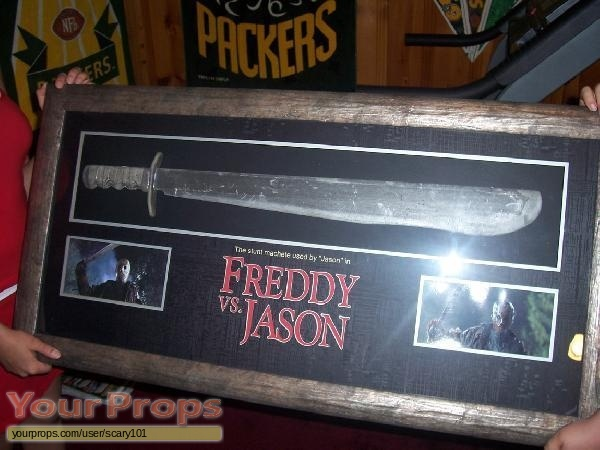 Freddy vs  Jason original movie prop weapon