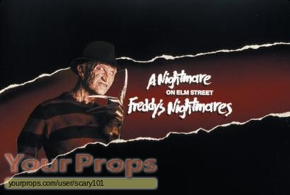 Freddys Nightmares original make-up   prosthetics