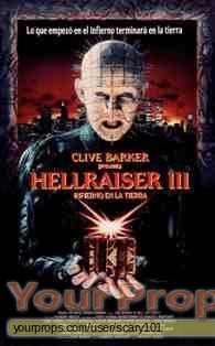 Hellraiser 3  Hell On Earth original movie prop