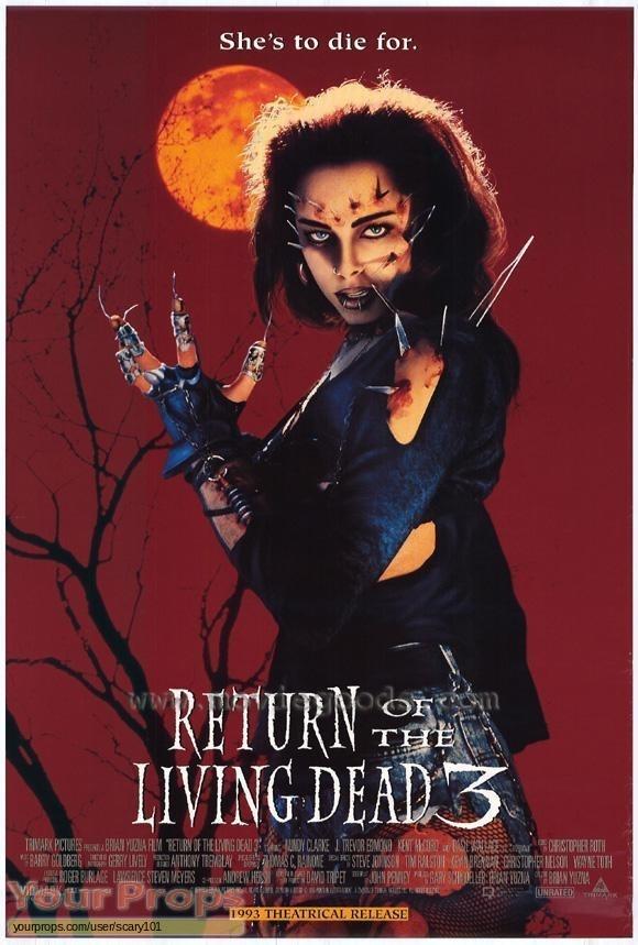Return of the Living Dead  Part 3 original production material