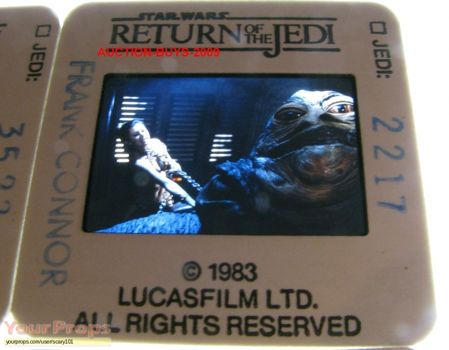 Star Wars  Return Of The Jedi original production material