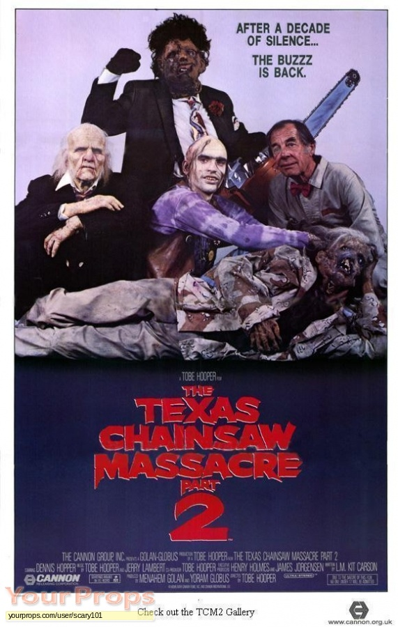 The Texas Chainsaw Massacre 2 original production material