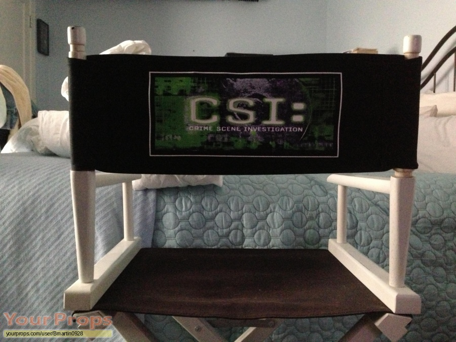 CSI  Crime Scene Investigation original production material