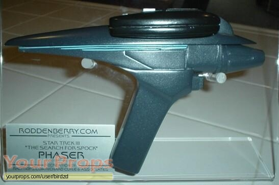 Star Trek III  The Search for Spock replica movie prop weapon