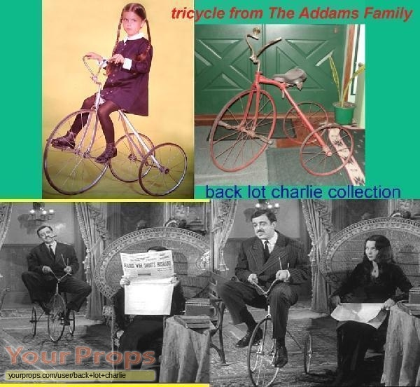 The Addams Family original movie prop
