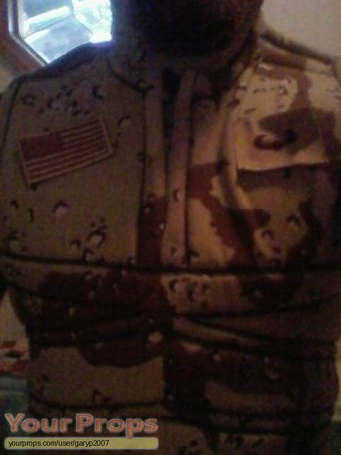Universal Soldier made from scratch movie costume