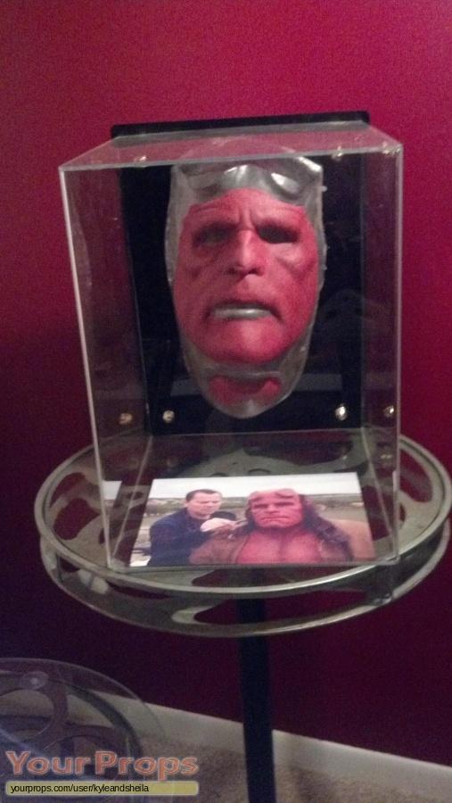Hellboy 2  The Golden Army original make-up   prosthetics