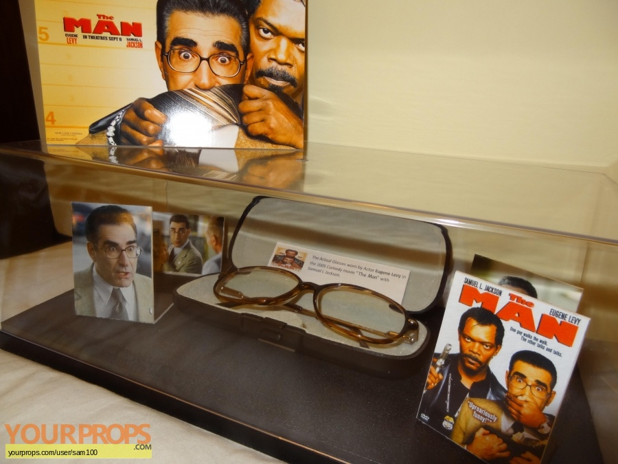 The Man original movie prop