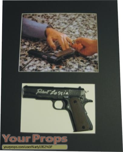 Magnum  P I  replica movie prop weapon