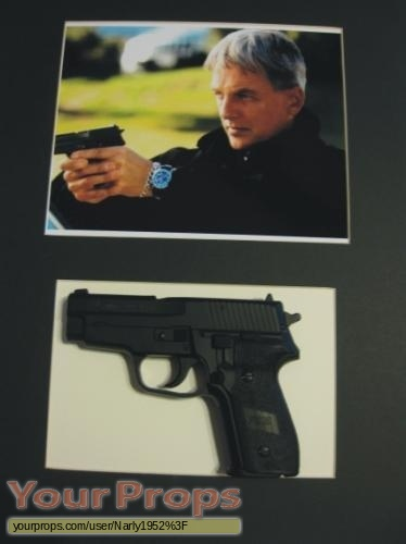 Navy NCIS  Naval Criminal Investigative Service original movie prop weapon