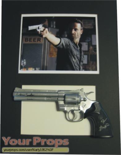 The Walking Dead original movie prop weapon
