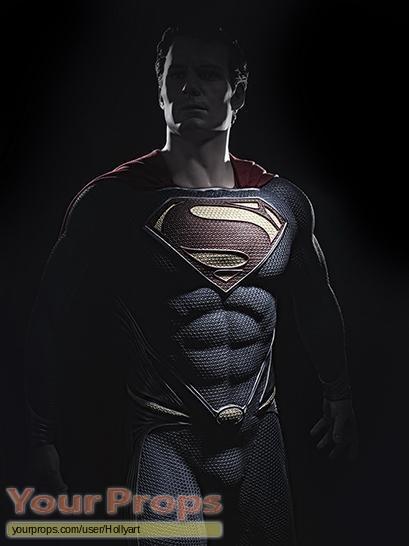 Man of Steel replica movie prop