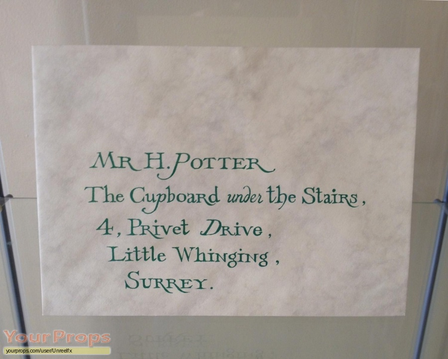 Harry Potter and the Philosophers Stone original movie prop