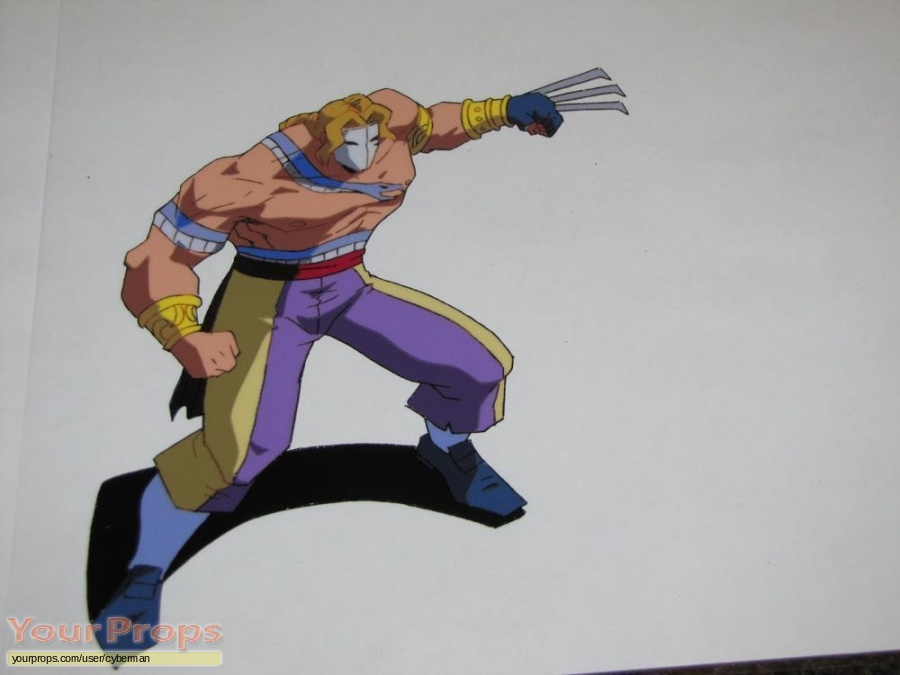 Street Fighter  The Animated Series original production artwork