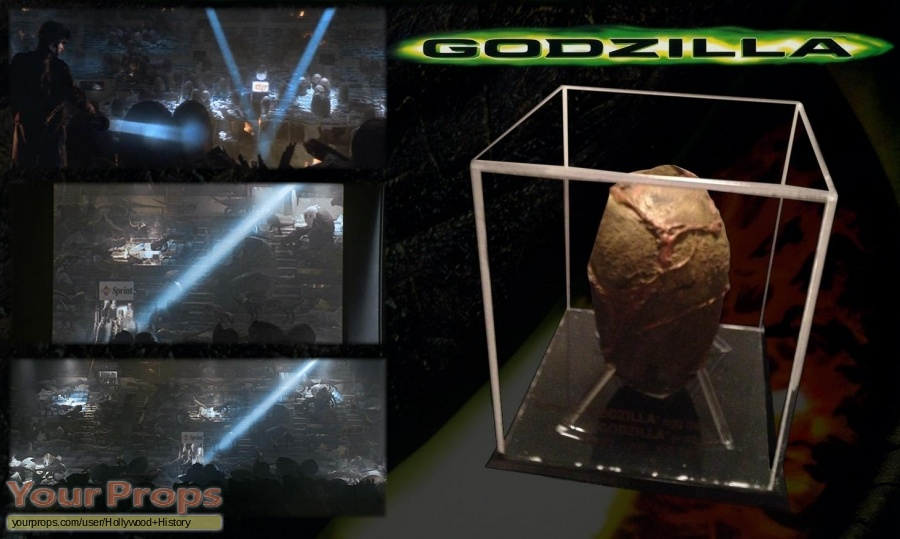 Godzilla original movie prop