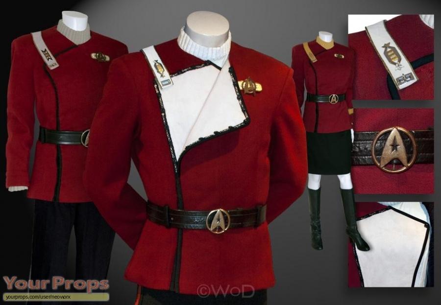 Star Trek II  The Wrath of Khan  Class A Maroon UniformsWrath Of Khan Costume
