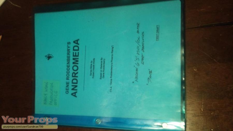 Andromeda original production material
