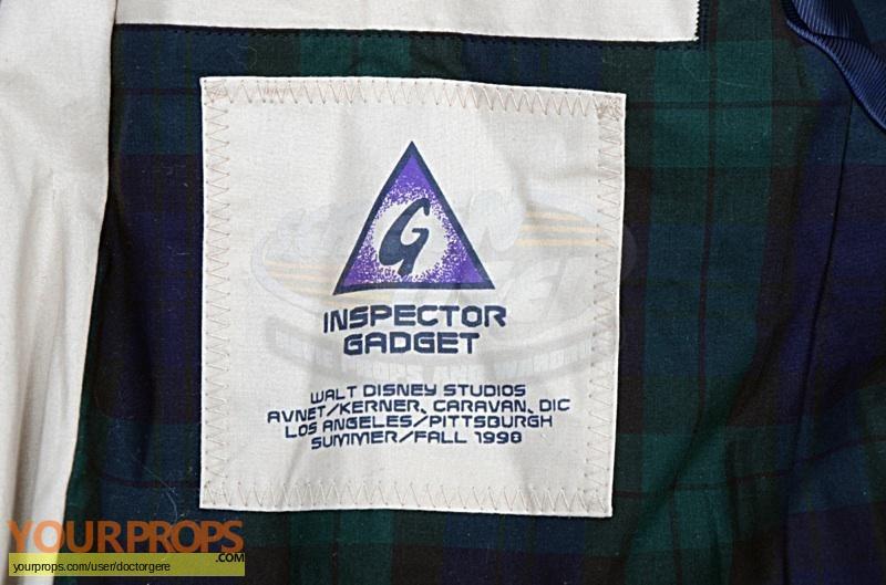 Inspector Gadget original film-crew items