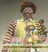 McDonalds (TV commercial) original movie costume