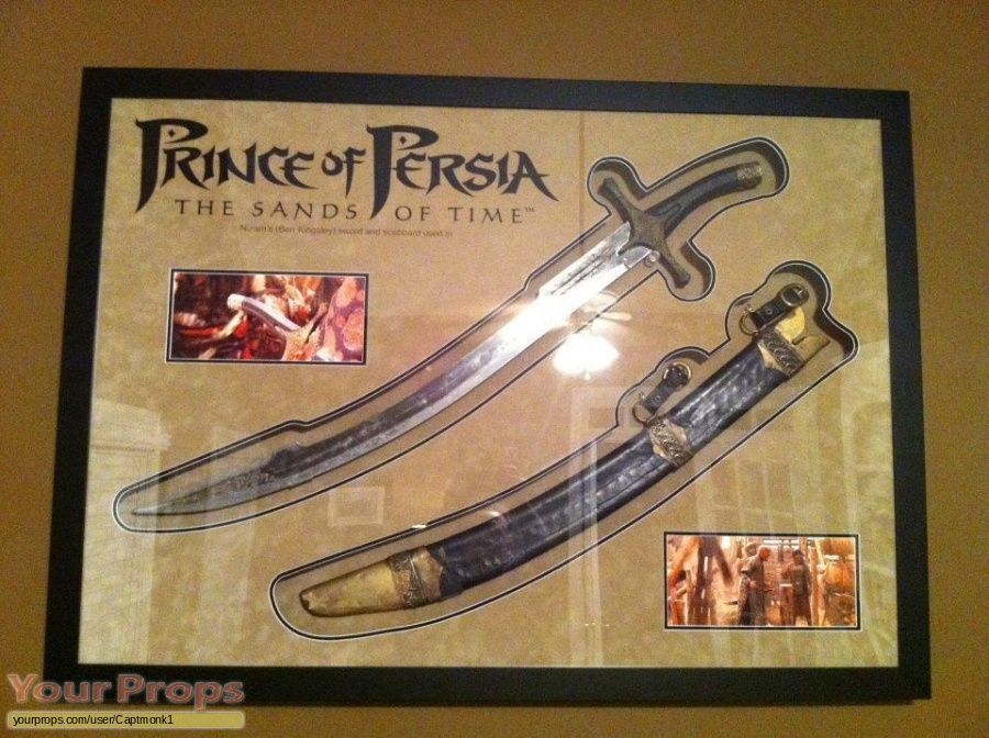 Prince of Persia  The Sands of Time original movie prop weapon