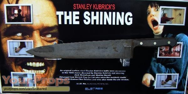 The Shining original set dressing   pieces