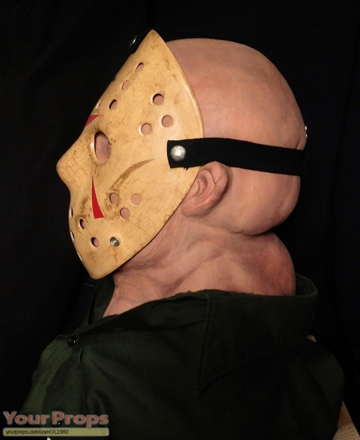 Friday the 13th  Part 3 replica make-up   prosthetics