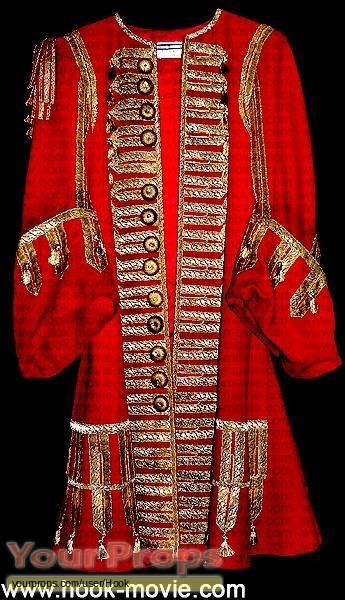 Hook original movie costume