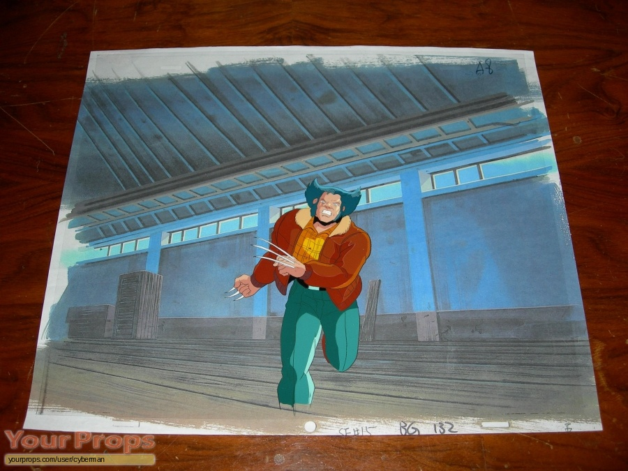X-Men  The Animated Series original production artwork