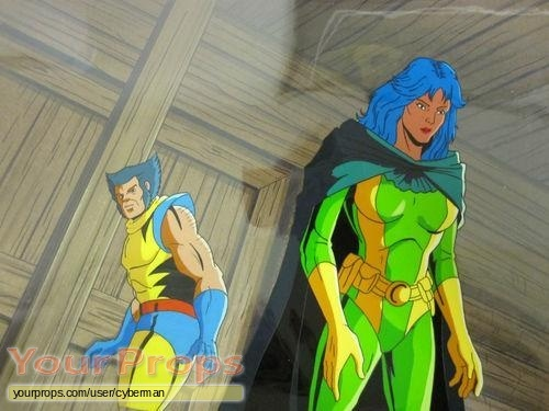 X-Men  The Animated Series original production artwork