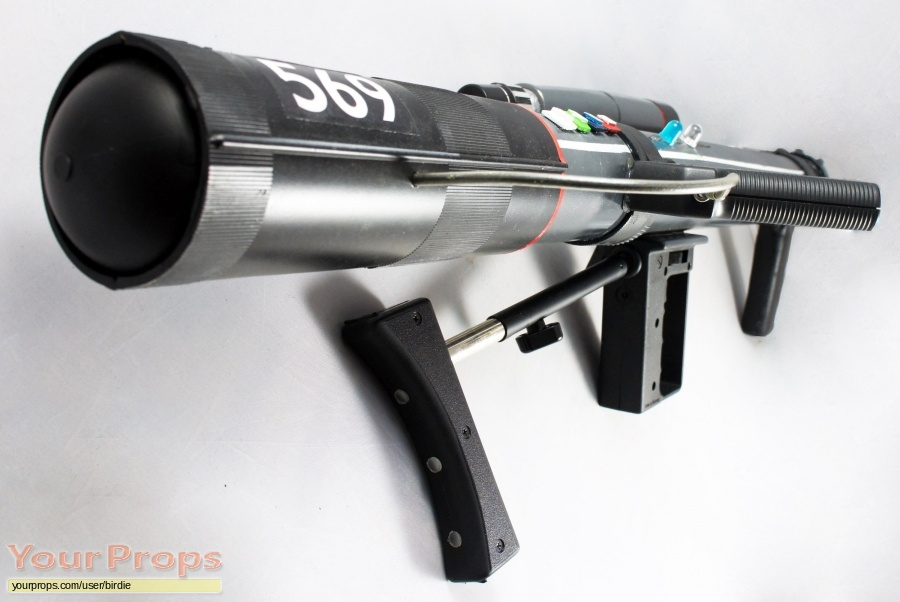 Space  1999 made from scratch movie prop weapon