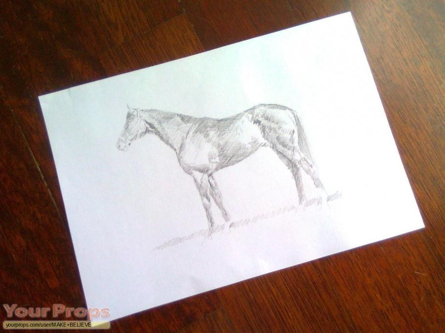 War Horse replica movie prop