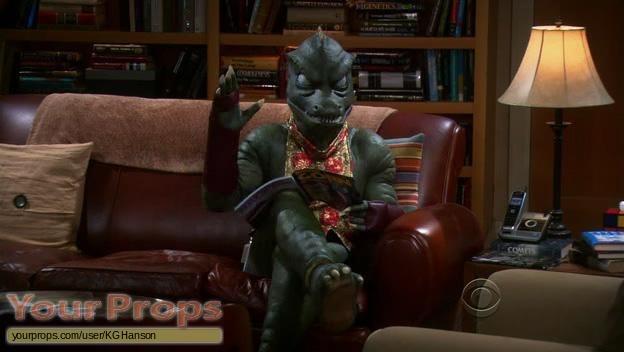 The Big Bang Theory original movie prop