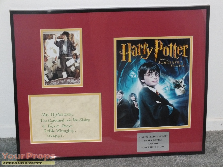 Harry Potter and the Sorcerers Stone original movie prop