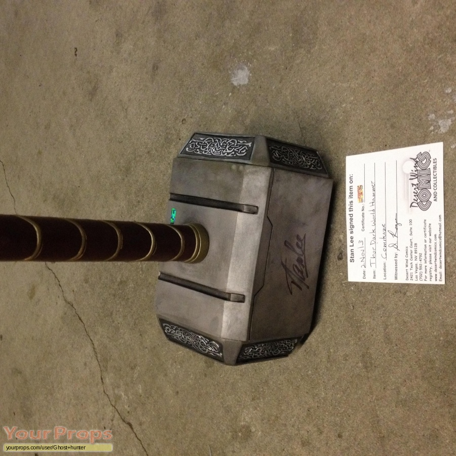 Thor  The Dark World made from scratch movie prop weapon