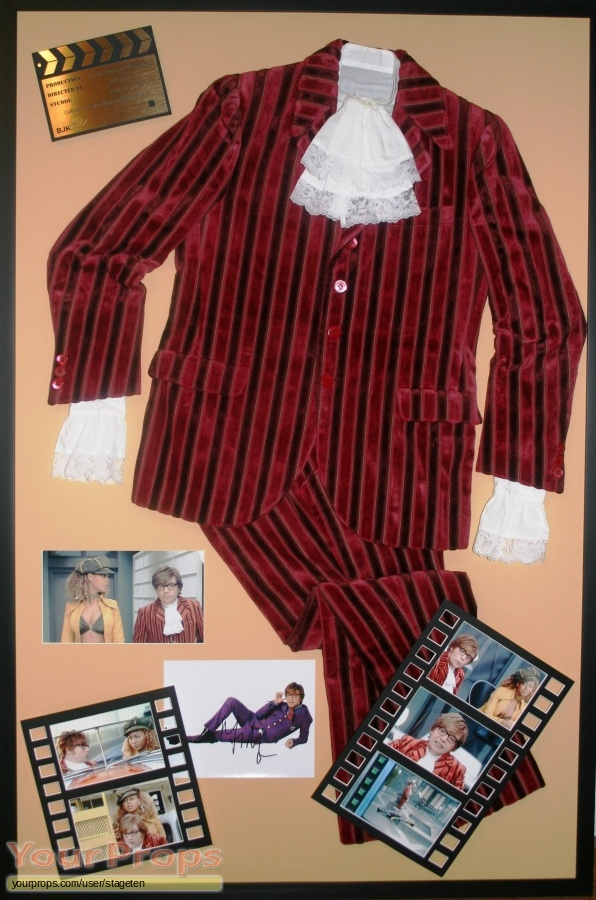 Austin Powers  Goldmember original movie costume