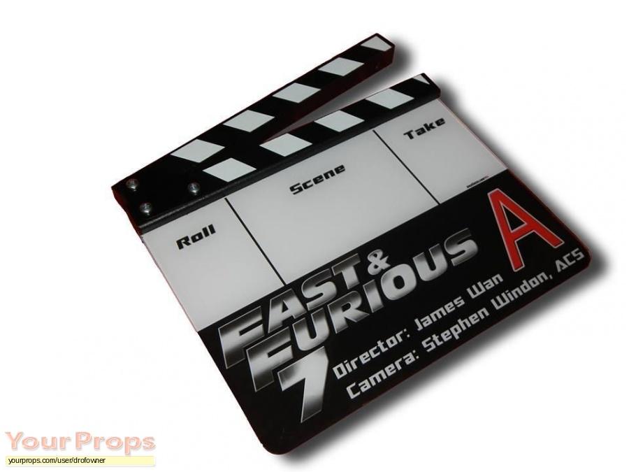 Fast   Furious 7 original production material