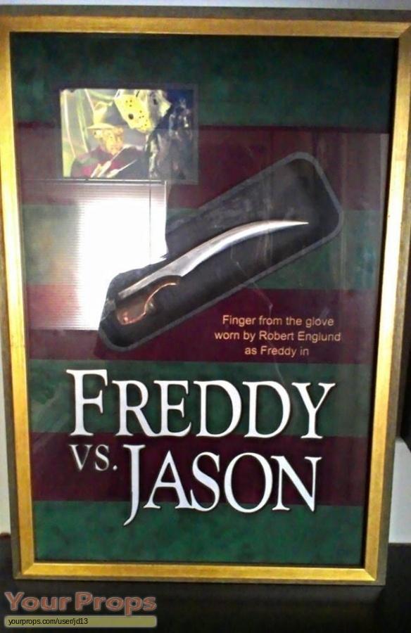 Freddy vs  Jason original movie prop